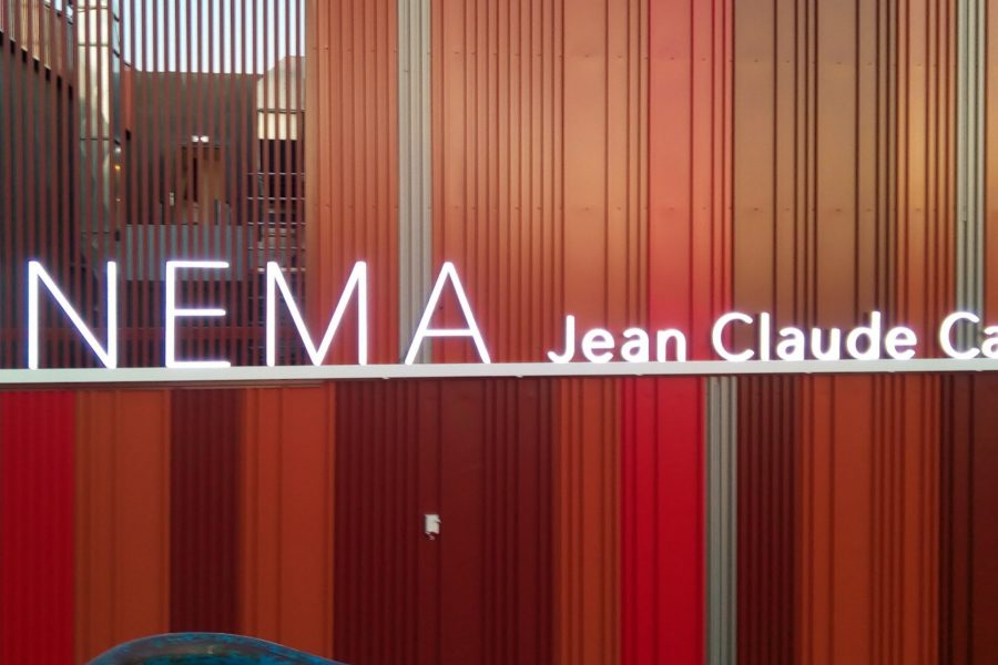 CINEMA JEAN CLAUDE CARRIERE – fabrication et pose enseigne